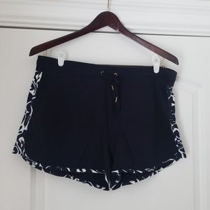 Crown & Ivy Beach Collection Navy Shorts XL